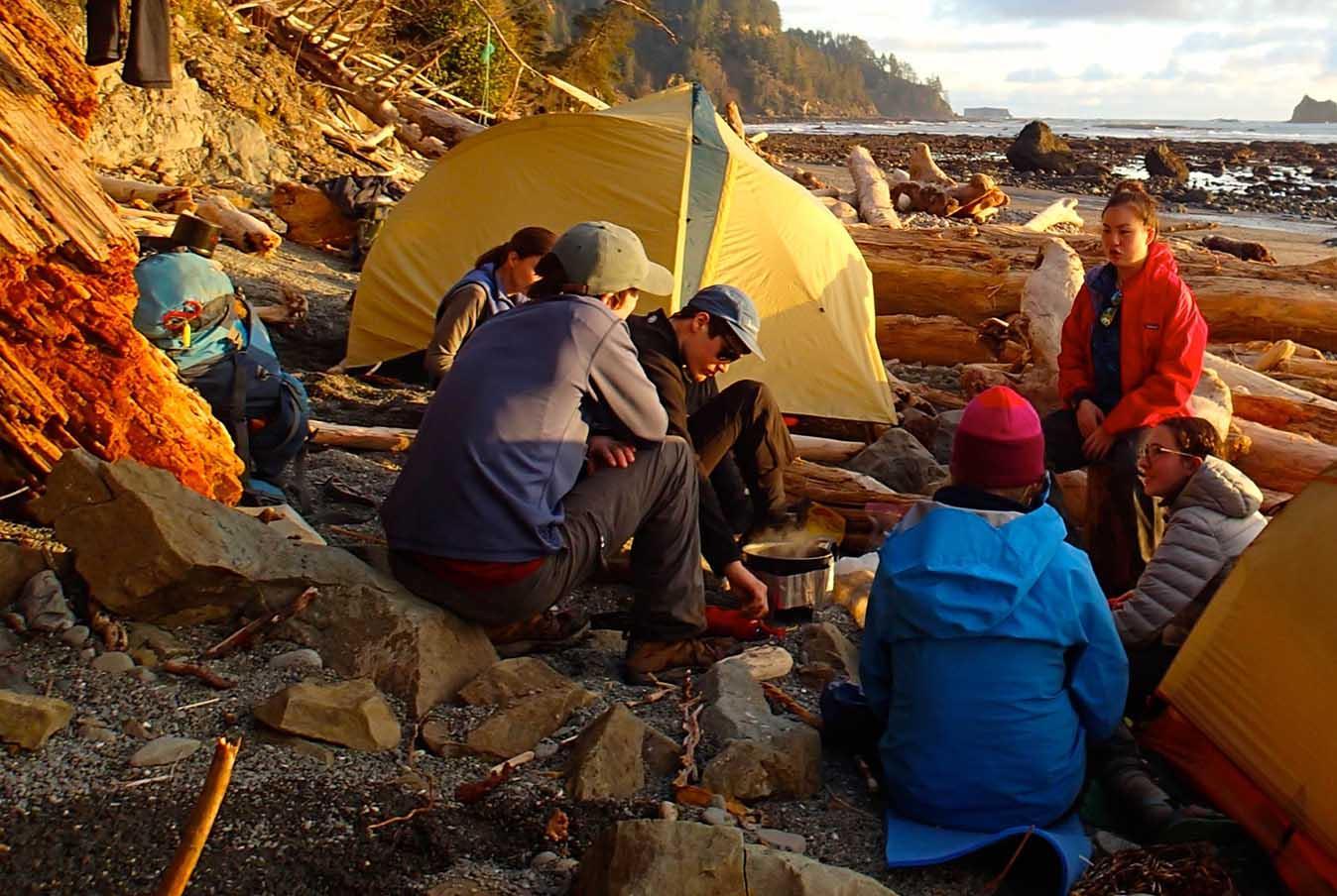 Outdoors Program Camping101