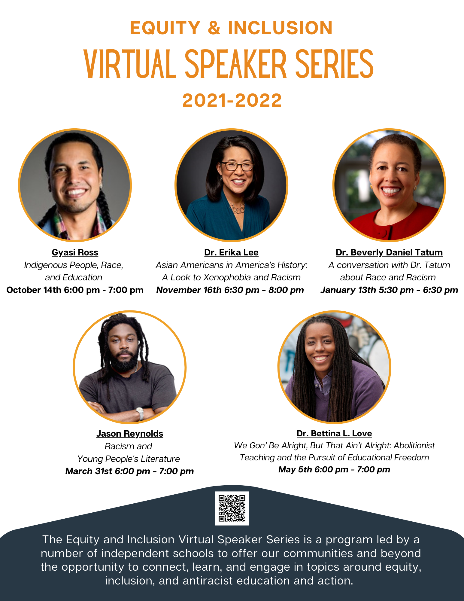 Print Equity Inclusion Speaker Series Flyer